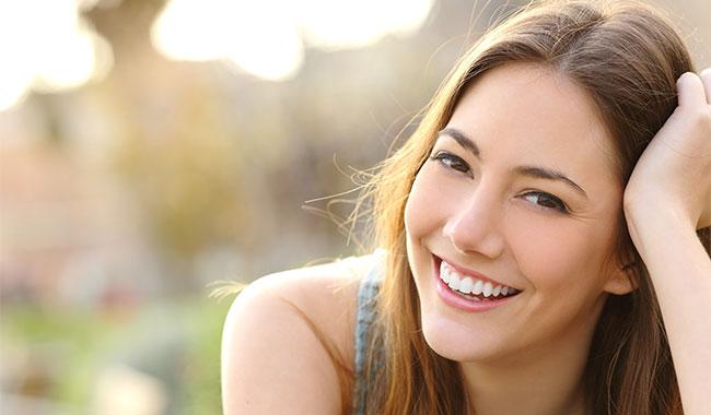 cbd benefits mental health happy woman
